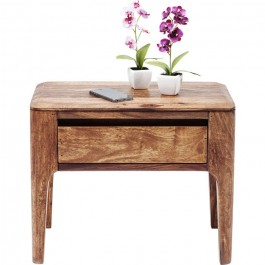 Boston Taper Contemporary Solid Wood Dresser 1 Drawer Bedside Table Natural