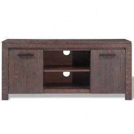 AVALON Solid wood 2 Door Tv Unit Brown 120cm