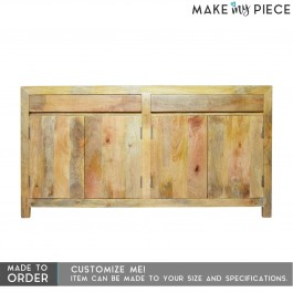 BOSTON Contemporary Mango Wood Sideboard Natural