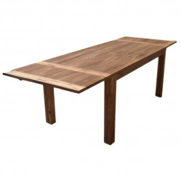 Boston Indian Contemporary Teak Wood Dining Extension Table