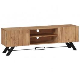 AVALON Solid wood 2Door & 2Shelf Tv Unit Natural