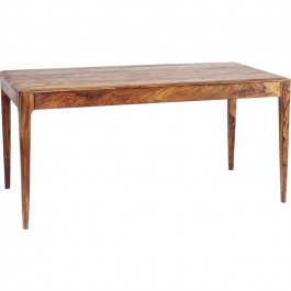Boston Taper Contemporary Solid Wood Rectangular Dining Table Natural 160 cm