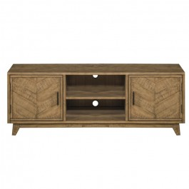 Clovelly designer solid Acacia Entertainment unit TV stand L