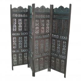 Dynasty Carved Wooden Partition Screen