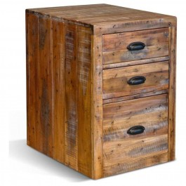Indian Solid Wood Chest Of Drawer Whitewash