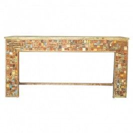 Liberty Reclaimed Wood Console Table 1.8m