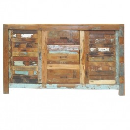 Nirvana Reclaimed Boat Timber Sideboard Buffet 1.5m M
