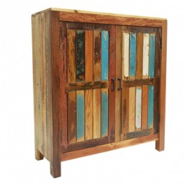 Nirvana Reclaimed Timber Cabinet Cupboard Pantry Small