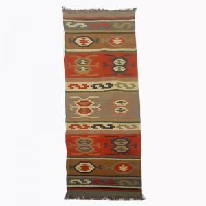Kilim Handwoven Wool Woollen Dhurrie Durry Rug Jute Floor Runner Hallway Pattern 3