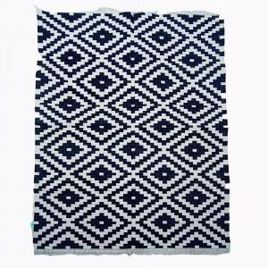Kilim Wool Handwoven Woollen Dhurrie Durry Rug Jute Floor Covering Pattern 7