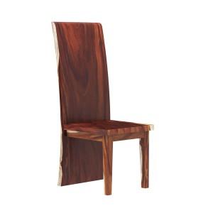 Auburn Solid Wood Live Edge Slab Wood Dining Chair