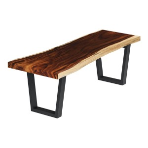 La Habra Solid Wood Handcrafted Single Slab Live Edge Dining Table