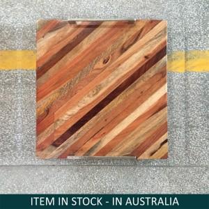 Rustic Rosewood Serving Tray Honey Brown