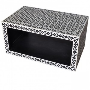 Pandora Bone inlay Black Coffee Table