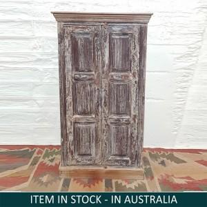 Solid Wood Wardrobe Cabinet 67x46x127 cm