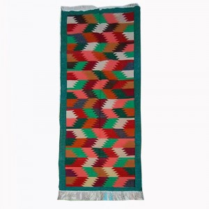 Kilim Handwoven Cotton Dhurrie Durry Rug Jute Floor Runner Hallway Pattern 3