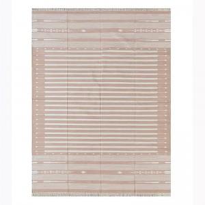 Kilim Wool Handwoven Cotton Dhurrie Durry Rug Jute Floor Covering Pattern 36