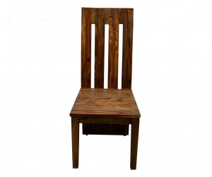 Cromer Indian Solid Wood Seating Chair Brown 46 x 46 x 107 cm
