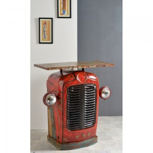 Transport Metal Industrial Jodhpur classic Tractor Console table