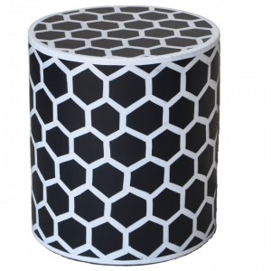 Pandora Hand Painted Bee Hive Round Lamp Table