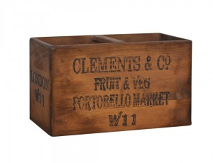 Solid Industrial Mango Wood Decorative Box