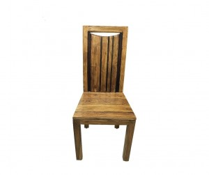 Cromer Indian Solid Wood Seating Chair Natural 42 x 45 x 103 cm