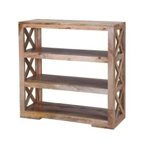 Napa 3 Open Shelf Wide Bookcase
