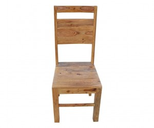 MADE TO ORDER Indian Wooden Seating Chair Natural 45x44x105 cm