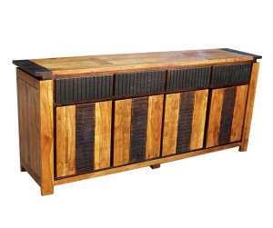 MADE TO ORDER Indian Lyon Wooden Large Sideboard 200x45x85 cm