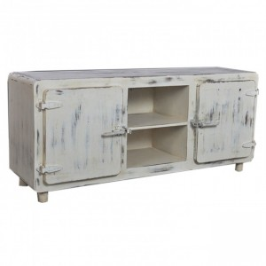 CROMER Style White TV Unit
