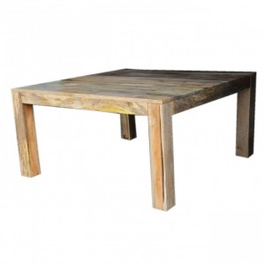 Boston Square Dining Table Natural