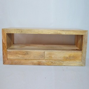 Contemporary Boston TV Unit Natural 115cm