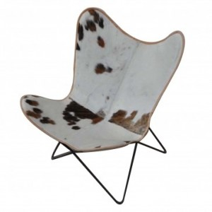Butterfly Chair Hair Leather