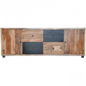 Vivid Colour Modern Solid Wood X Large Sideboard B 240x45x88cm