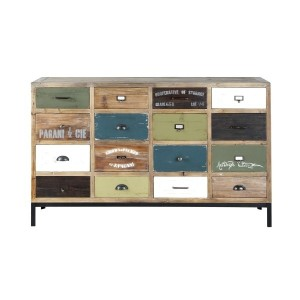 Vivid Solid wood modern Chest of Drawers