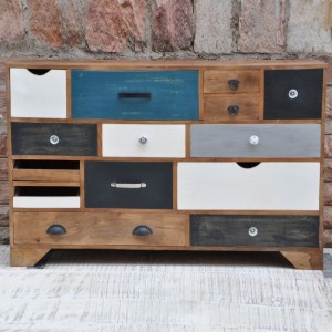 Vivid Solid Wood Chest of Drawers