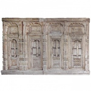 Hand Carved 18th century Indian Antique Window Door