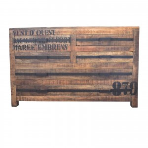 Earth wood Industrial chest of drawers