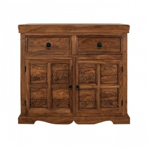 Elephant Design Indian solidwood Sideboard