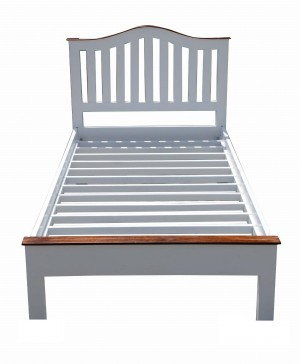French Blanc Wooden Bed