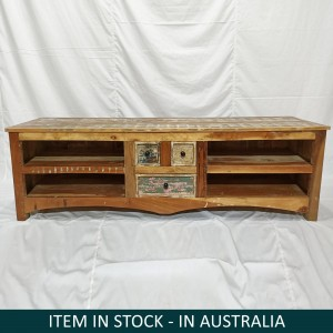 custom indian furniture, indian furniture, reclaimed furniture, Indian TV unit, Reclaimed wood TV unit, boat wood furniture australia, boat wood tv unit, Rustica TV unit, Furniture Australia, Rustic TV unit