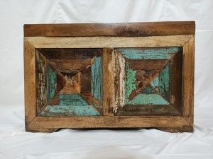 Nirvana Reclaimed Recycled Wood Solid  Blanket Box Coffee Table Storage Chest