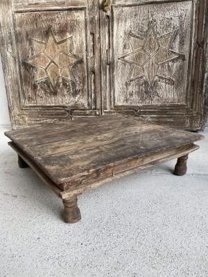 Bajot Square Coffee Table Hinda 51x51x14 cm