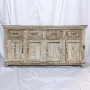 Bleached sideboard, shabby chic sideboard, bleached furniture australia, bleached furniture Sydney, Bleached Buffet, White Buffet, French Sideboard