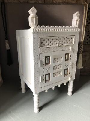 Damchiya Bridal Cabinet Right Open Whitewash 45x39x82 cm