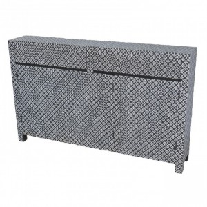 Pandora Bone inlay Black Sideboard 145cm