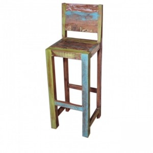Rustica Reclaimed Timber Bar Chair