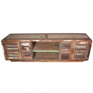 SALVAGE Reclaimed Timber TV Unit 200Cm