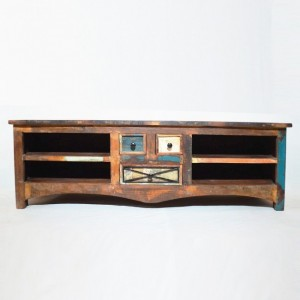 RUSTICA Reclaimed Timber TV unit - Large