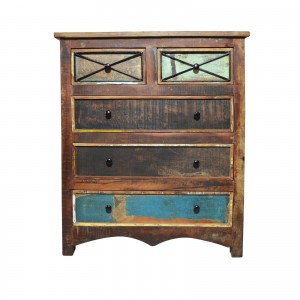 RUSTICA Reclaimed wood Chest of Drawers